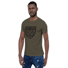 Load image into Gallery viewer, African Mask 2-Short-Sleeve Unisex T-Shirt