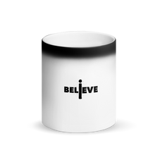 Load image into Gallery viewer, I Believe Black Matte Magic Mug