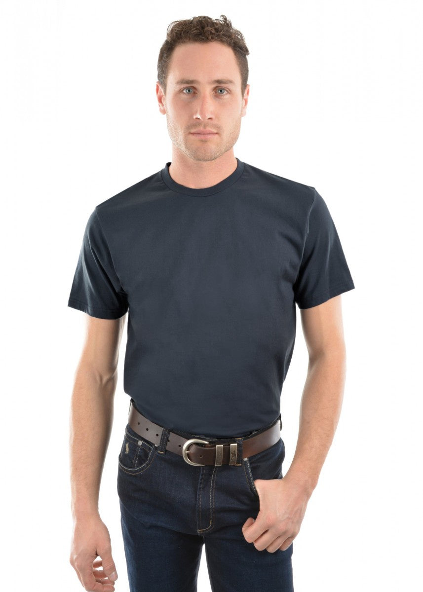 Mens Classic Fit Tee - Gunmetal Grey