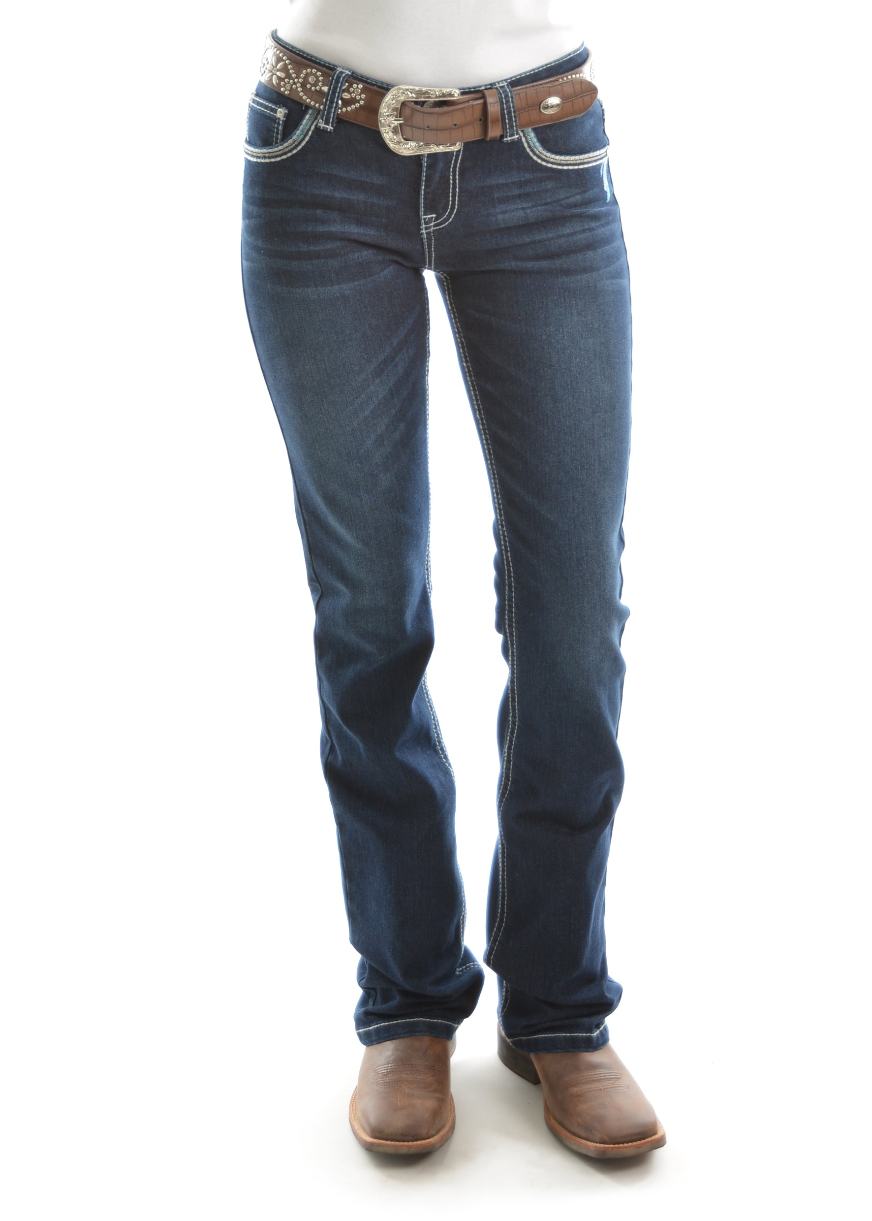 Womens Alice Relaxed Rider Jeans- 36Leg