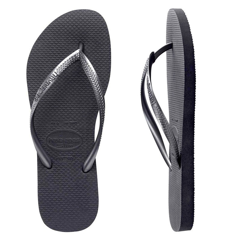 Havaianas Slim Metallic Graphite (Grey)