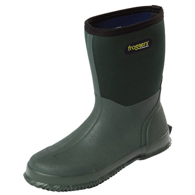 Mens Froggers Scrub Boot Green