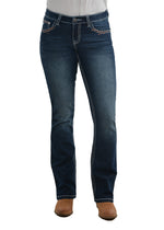 Womens Bridget Boot Cut Jean - 32 Leg (Indigo )