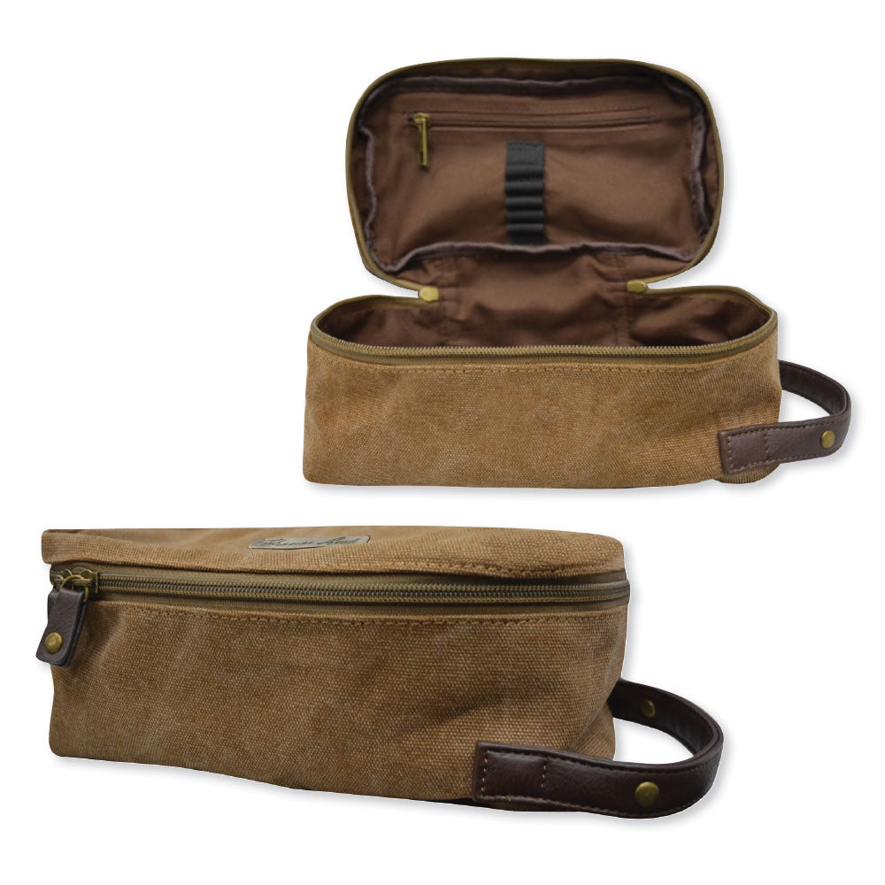 Tc Wash Bag (Brown or Navy