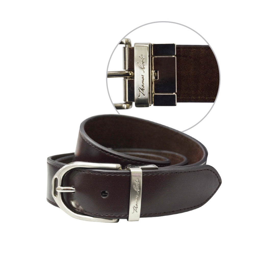 Wmns Stirrup Buckle Reversible Belt