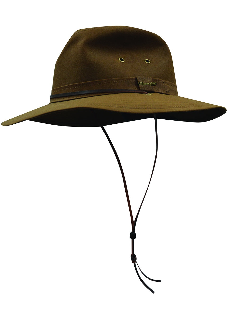Wide Brim Oilskin Hat