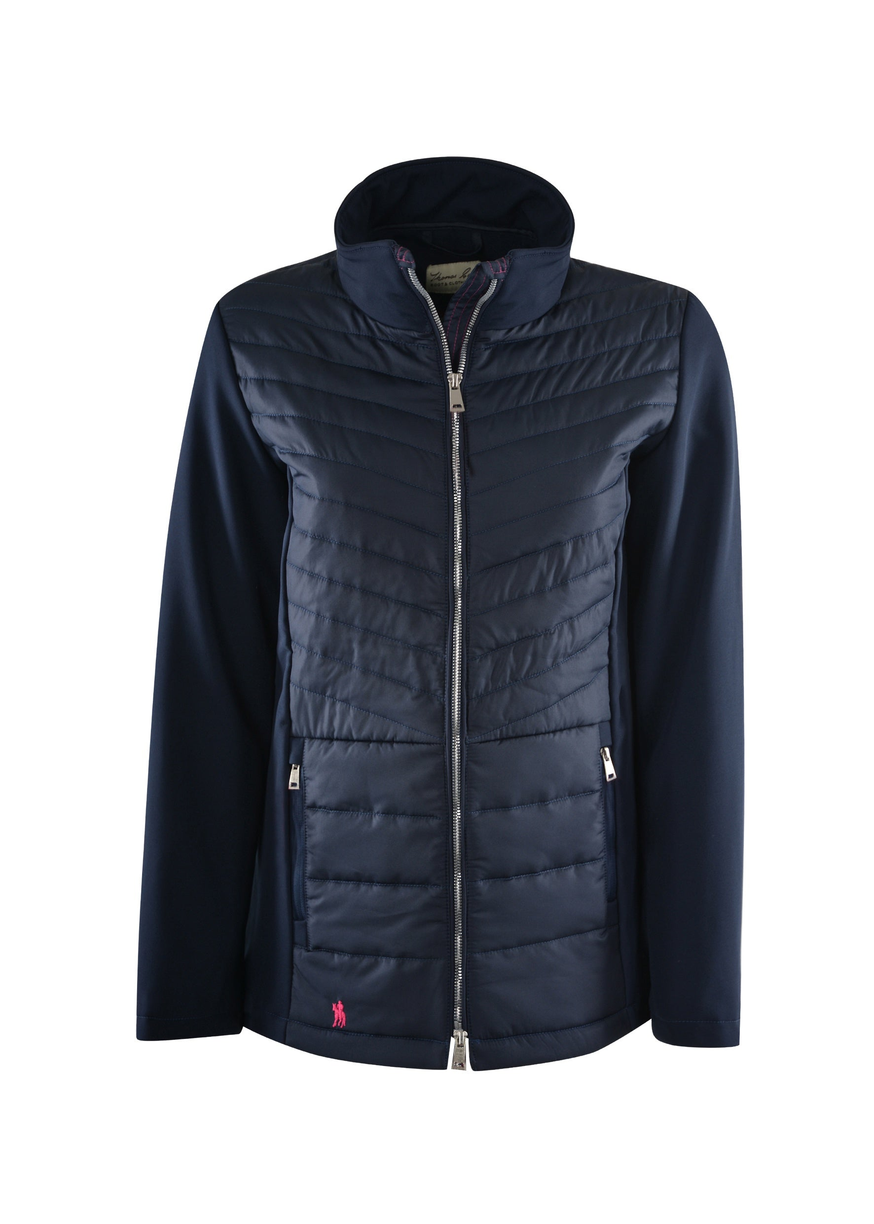Womens Tammy Coat (Deep Blue)