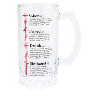 Beer Stein Glass Drunk Definition
