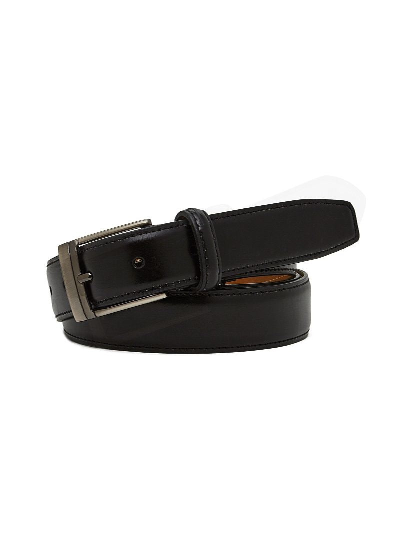 Mens Kai Basic Leather Belt