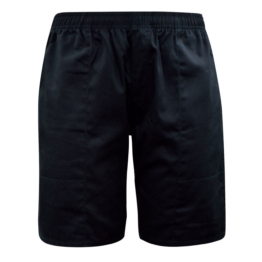 Mens Drill Shorts - Long (Navy or Black)