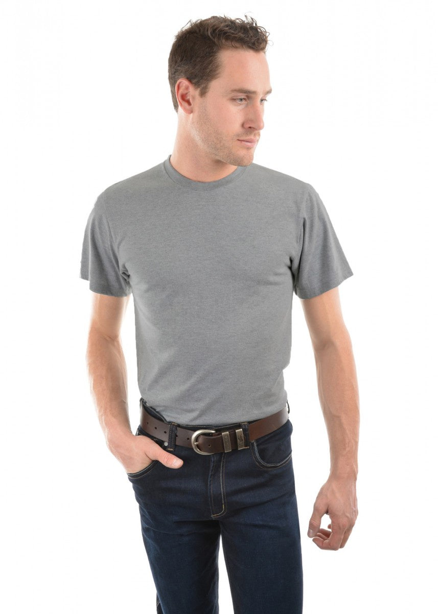 Mens Classic Fit Tee (Grey Marle)
