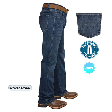 Mens Heath Slim Straight Jeans