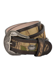 Mens Carlo Belt (Dark Tan)