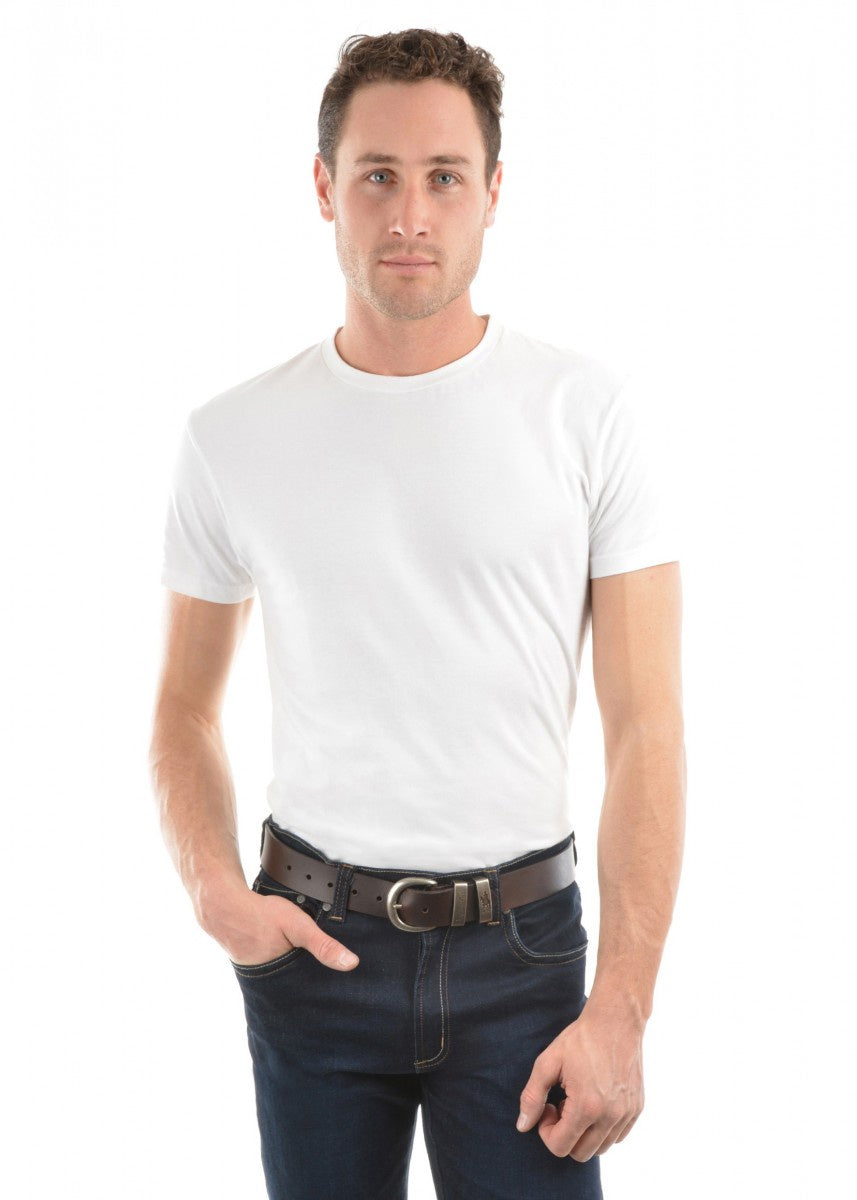 Mens Classic Fit Tee - White