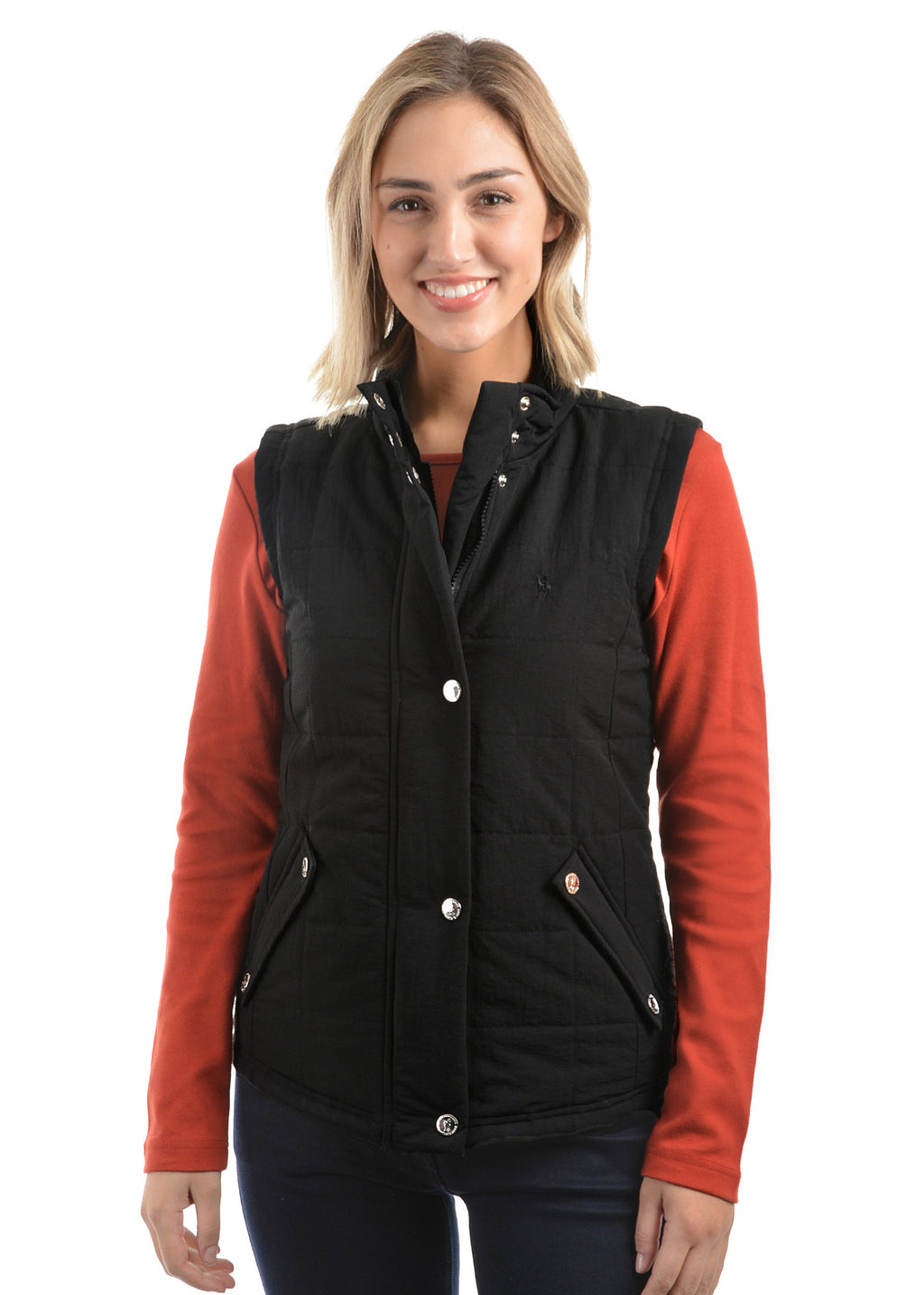 Womens Hawkesbury River Vest (Black)