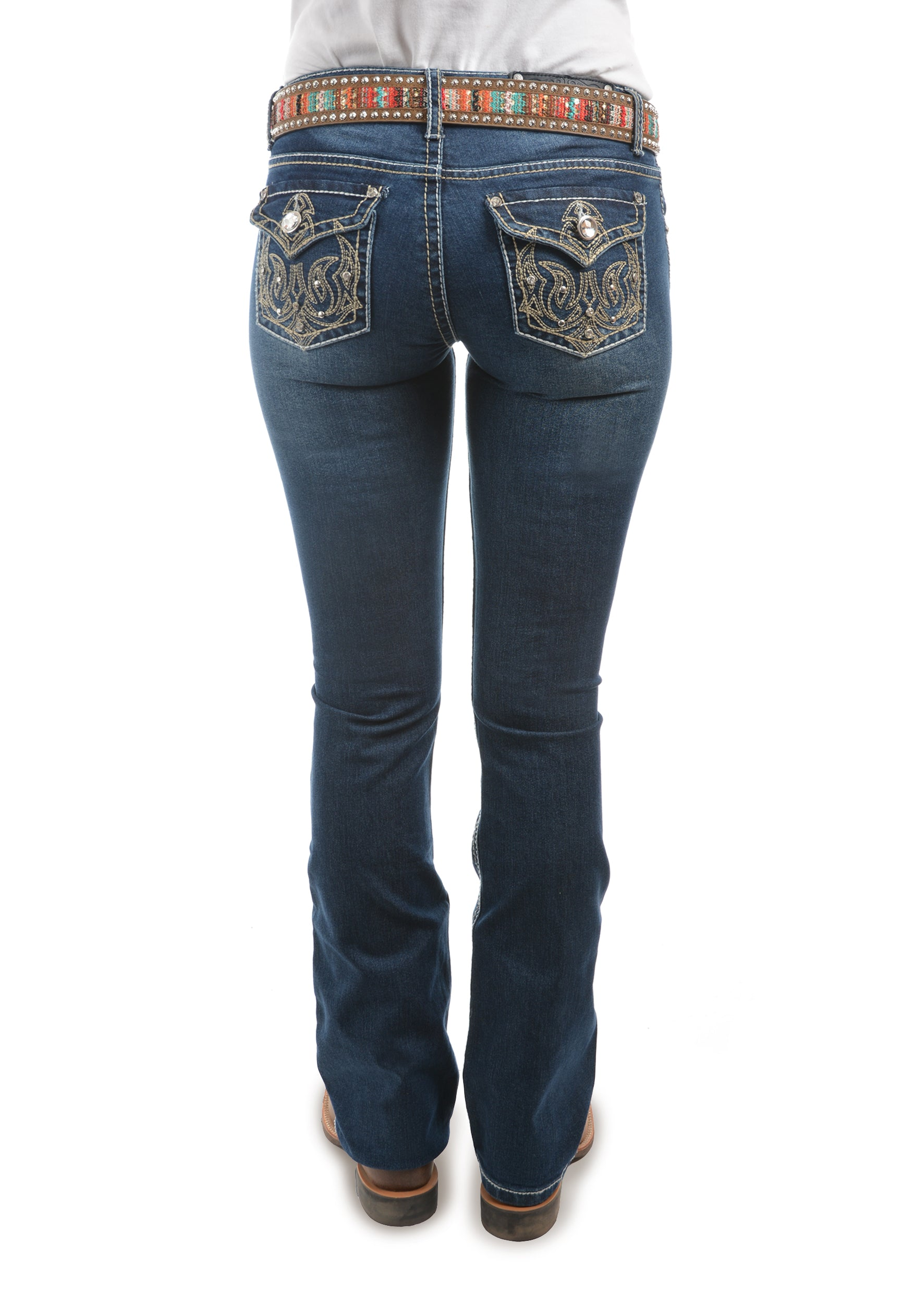 Womens Tasha Boot Cut Jean- 34 Leg