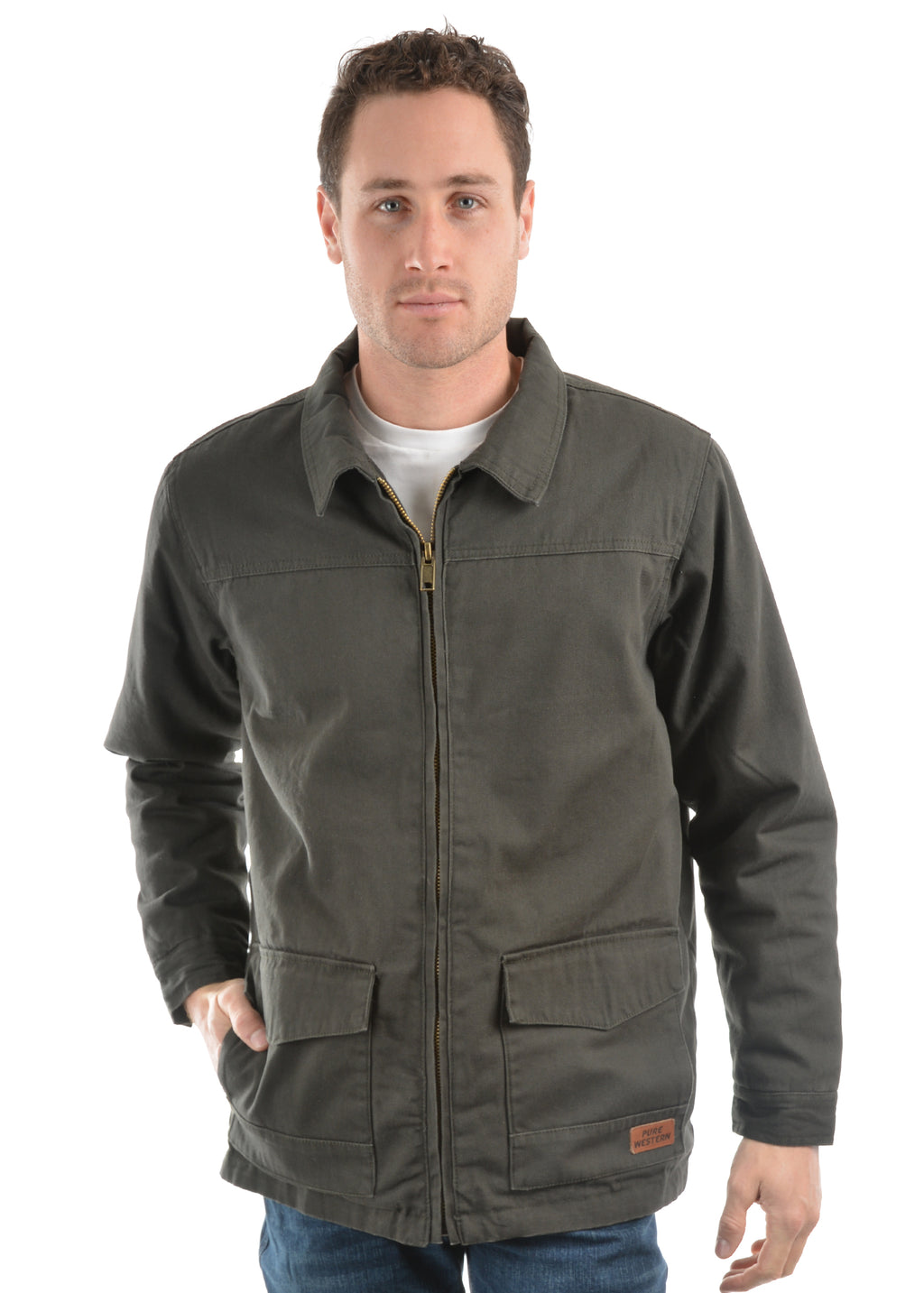 Mens Canvas Jacket
