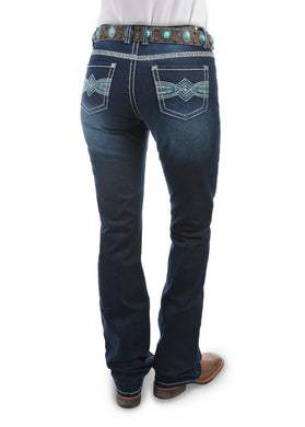 Womens Indiana Relaxed Rider Jean