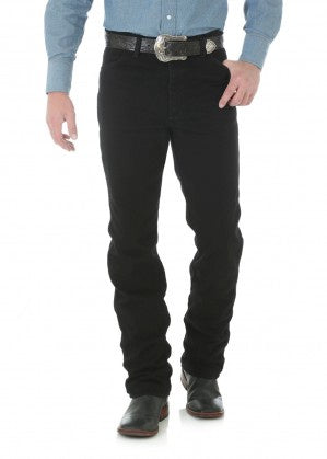 Mens Cowboy Cut Slim Fit Jeans (Shadow Black)