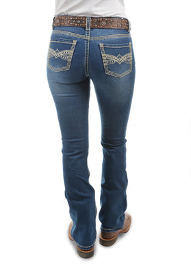 Wmns Savannah Boot Cut Jean - 34 Leg