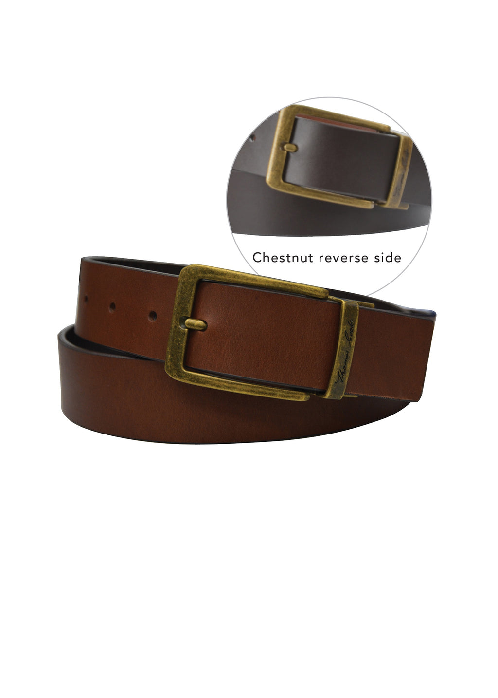 Brass Reversible Belt