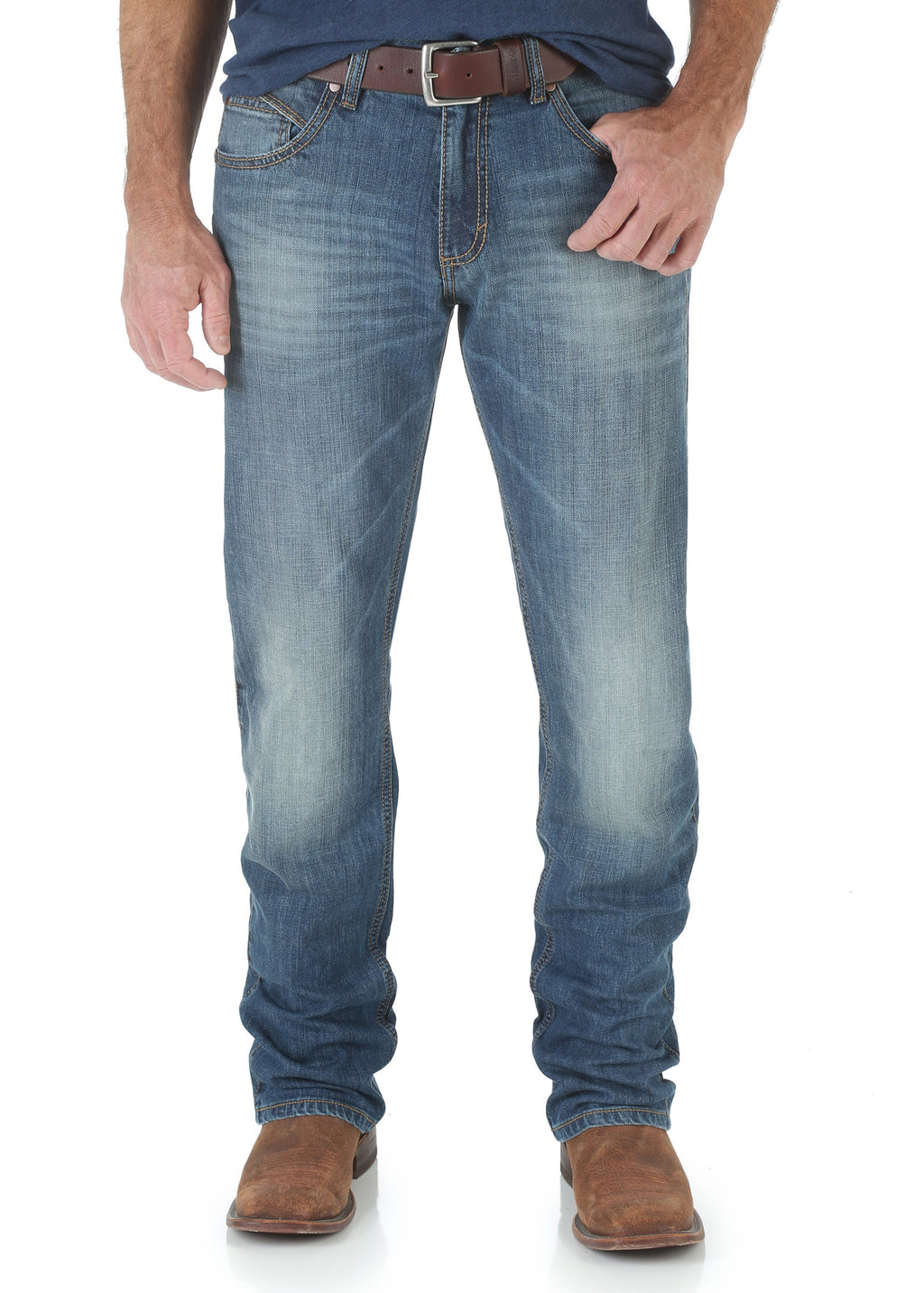 Mens Retro Slim Straight Jean (Cottonwood)