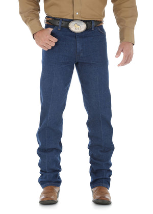 Mens Cowboy Cut Original Fit Jean 34 Leg (Prewashed Indigo)