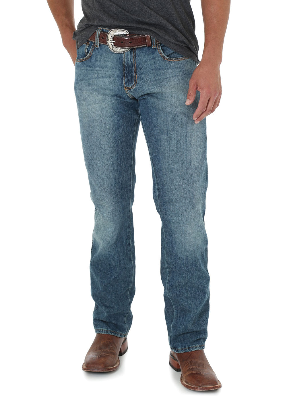 Mens Retro Slim Straight Jean (Rocky Top)