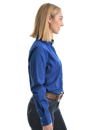 Womens Tracey Drill Long Sleeve Shirt (3 Colours)