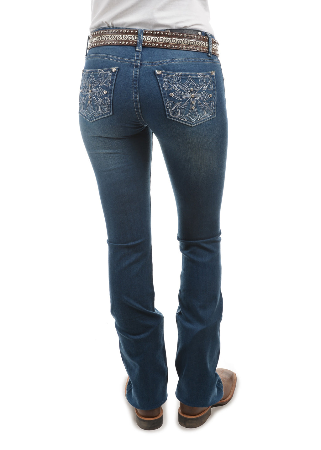 Womens Bella Boot Cut Jean- 34 Inch leg
