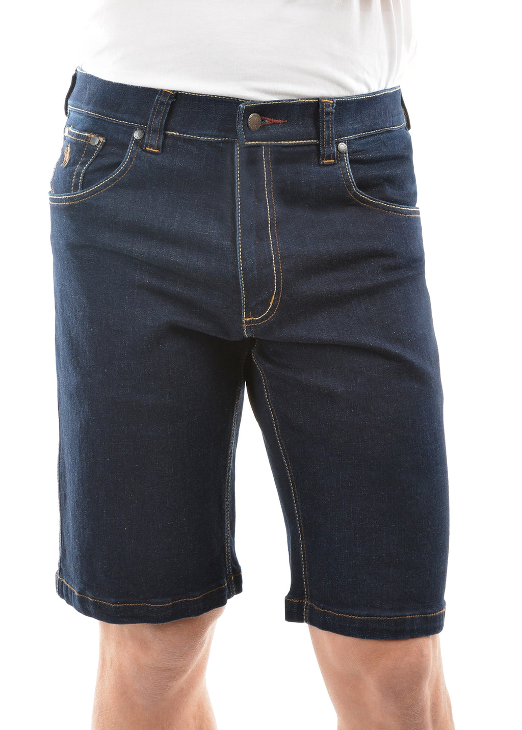 Mens Bass Denim Comfort Waist Shorts
