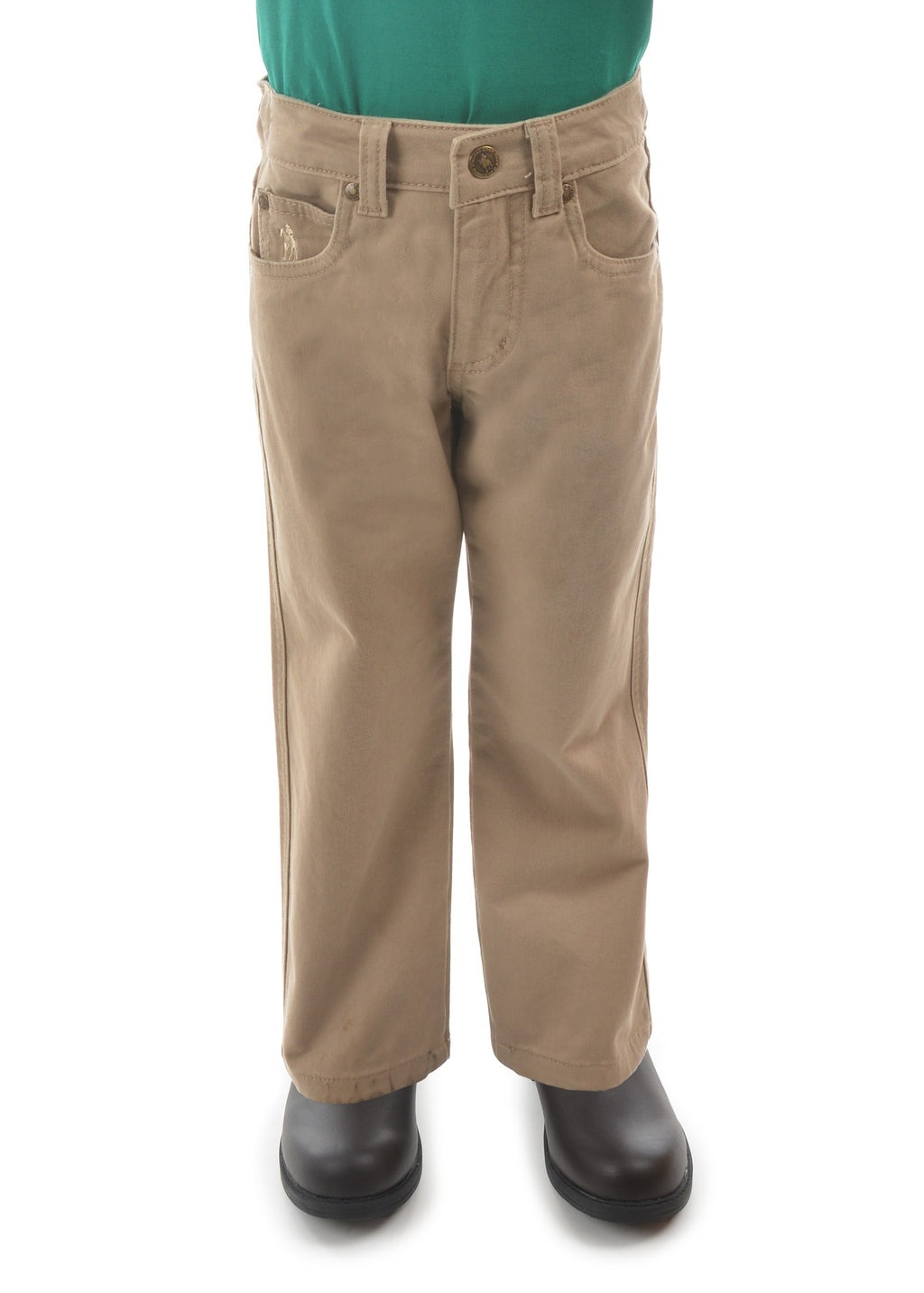 Kids Stretch Moleskin Jean - Regular (Sand)