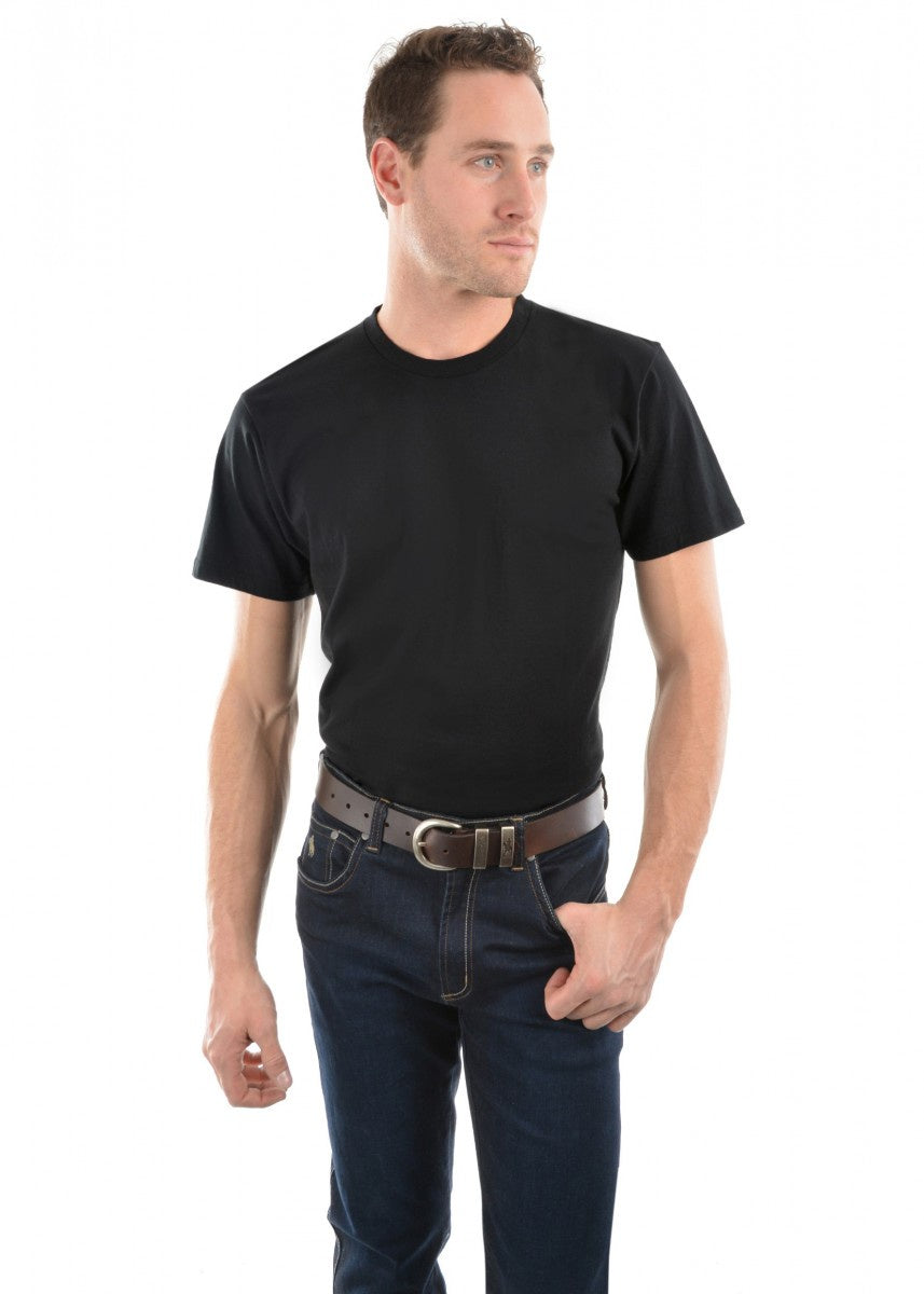 Mens Classic Fit Tee - Black