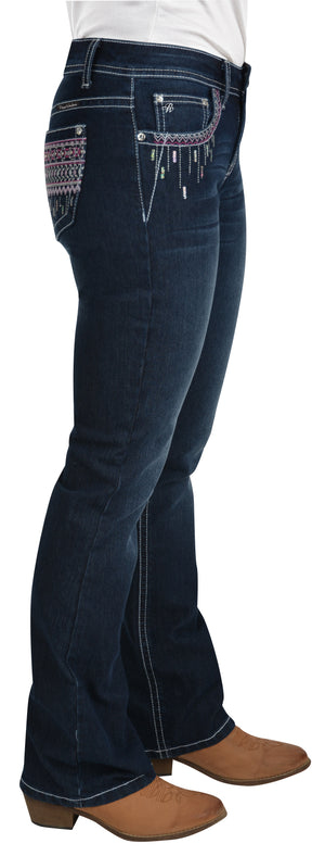 Womens Shawna Boot Cut Jean (Darkest Night)