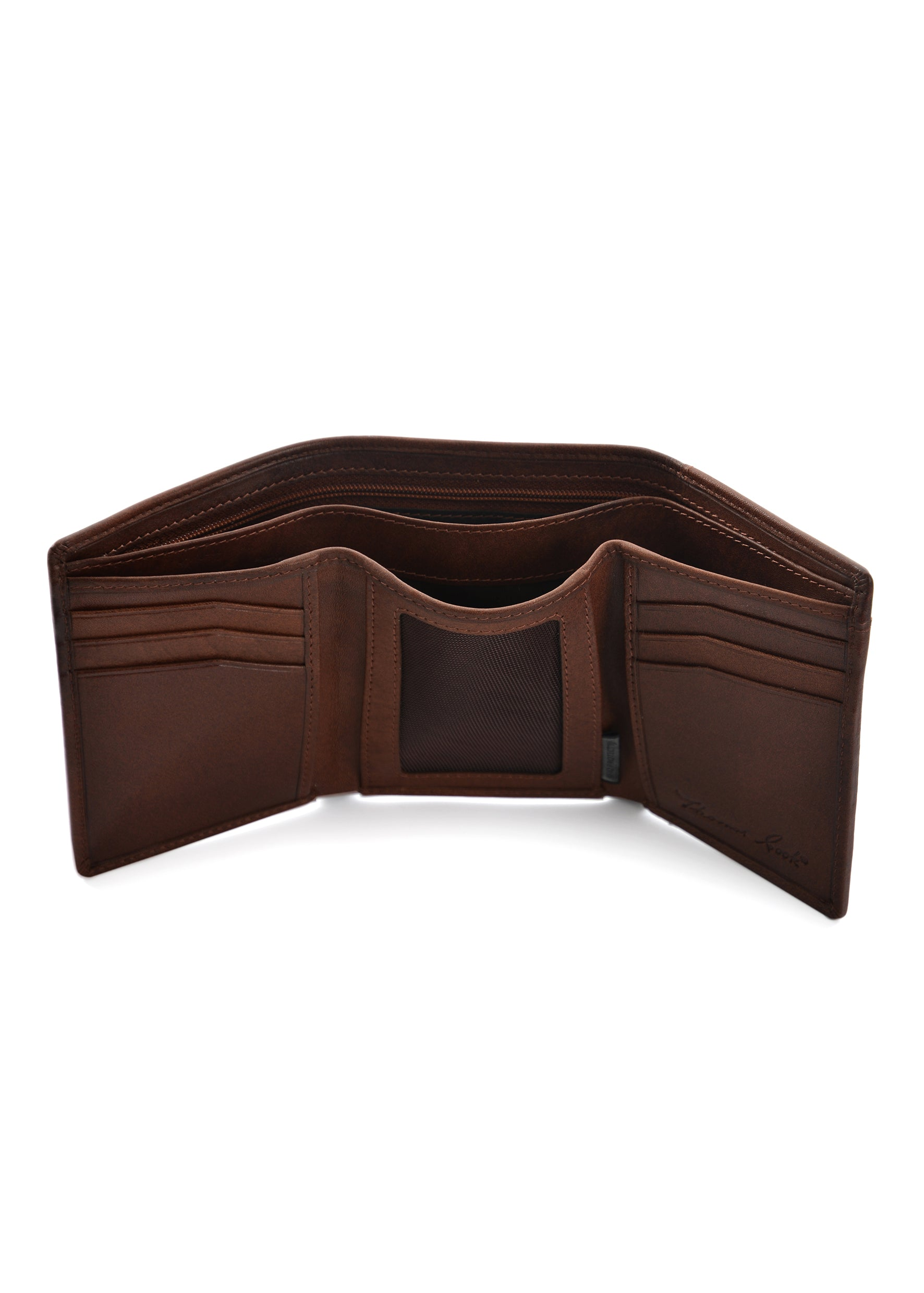 Cootamundra Tri-Fold Leather Wallet