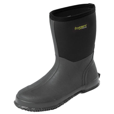 Mens Froggers Scrub Boot Black