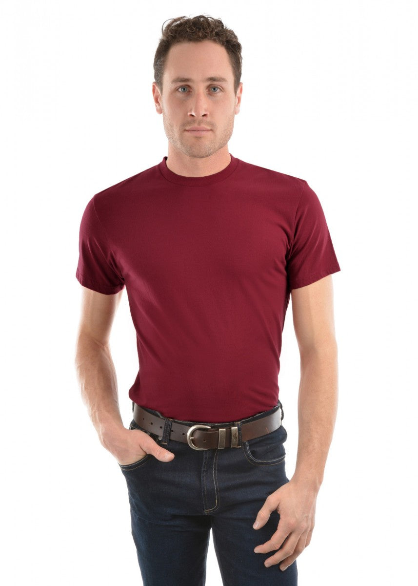 Mens Classic Fit Tee - Red