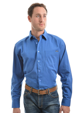 Mens Barrington Drill Long Sleeve Shirt