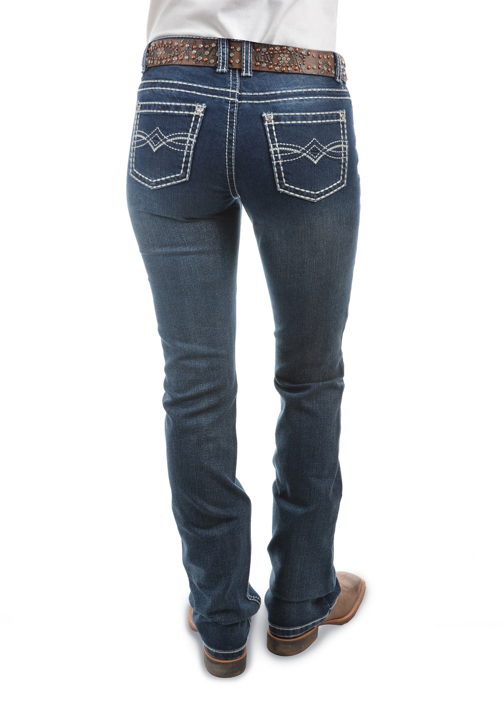 Womens Dakota Relaxed Rider Jean - 36 Leg