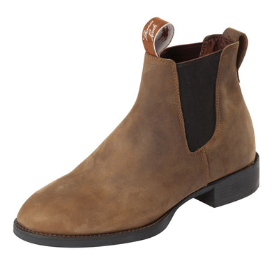 All Rounder Mens - Elastic Sided Crazy Horse Boots