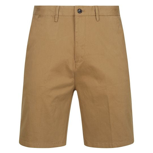 Mens Jody Cotton Dress Chino Shorts (Khaki)