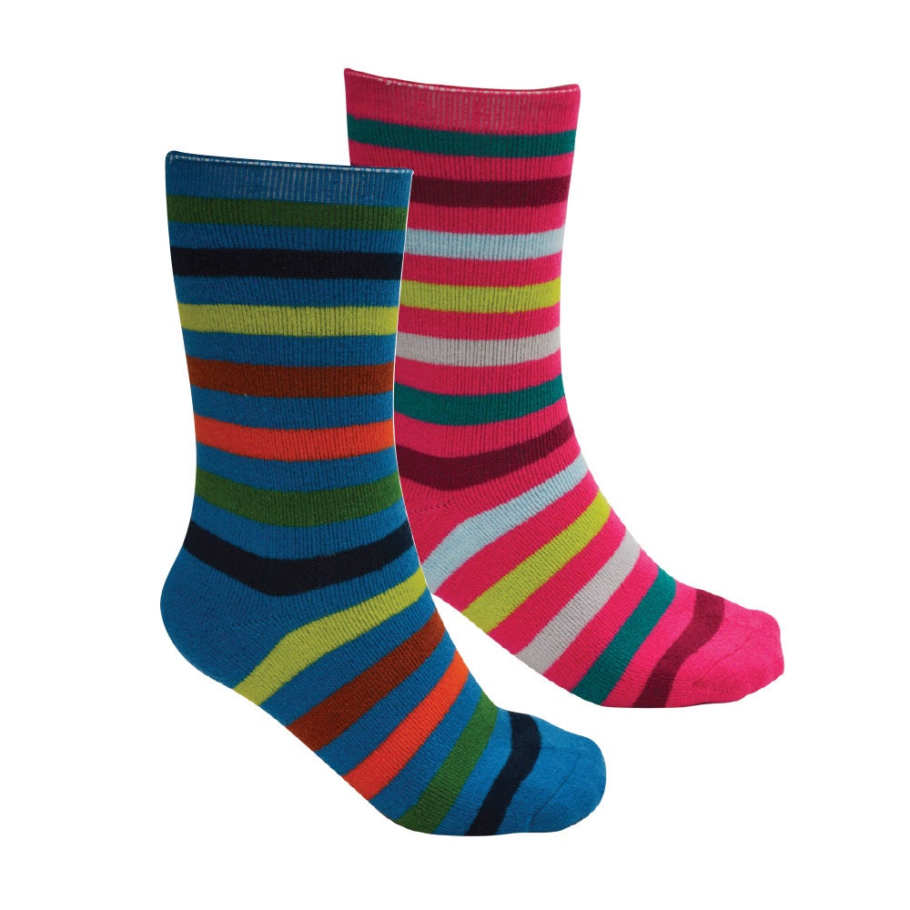 Kids Thermal Socks Twin Pack (Rio Mix)