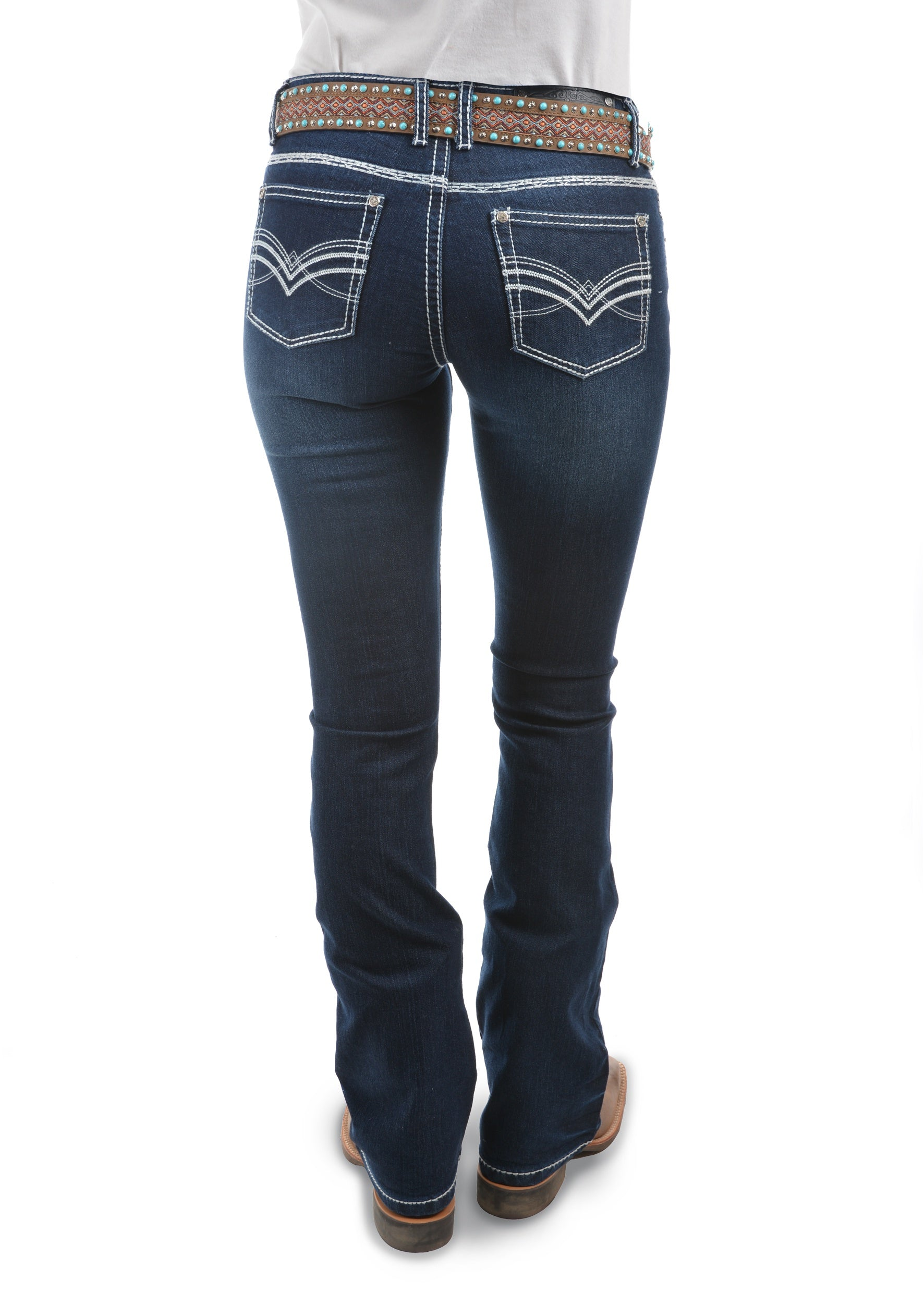 Womens Hannah Boot Cut Jean 32 Leg