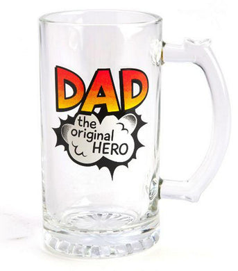 Beer Stein glass DAD original hero