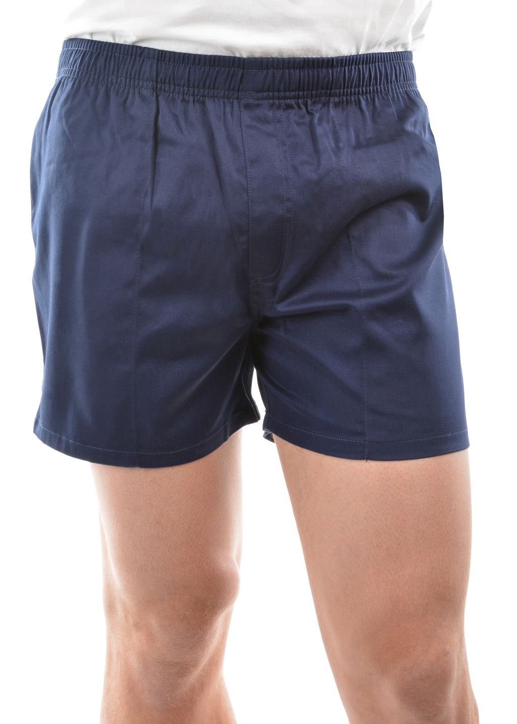 Mens Drill Shorts - Short (Navy or Black)