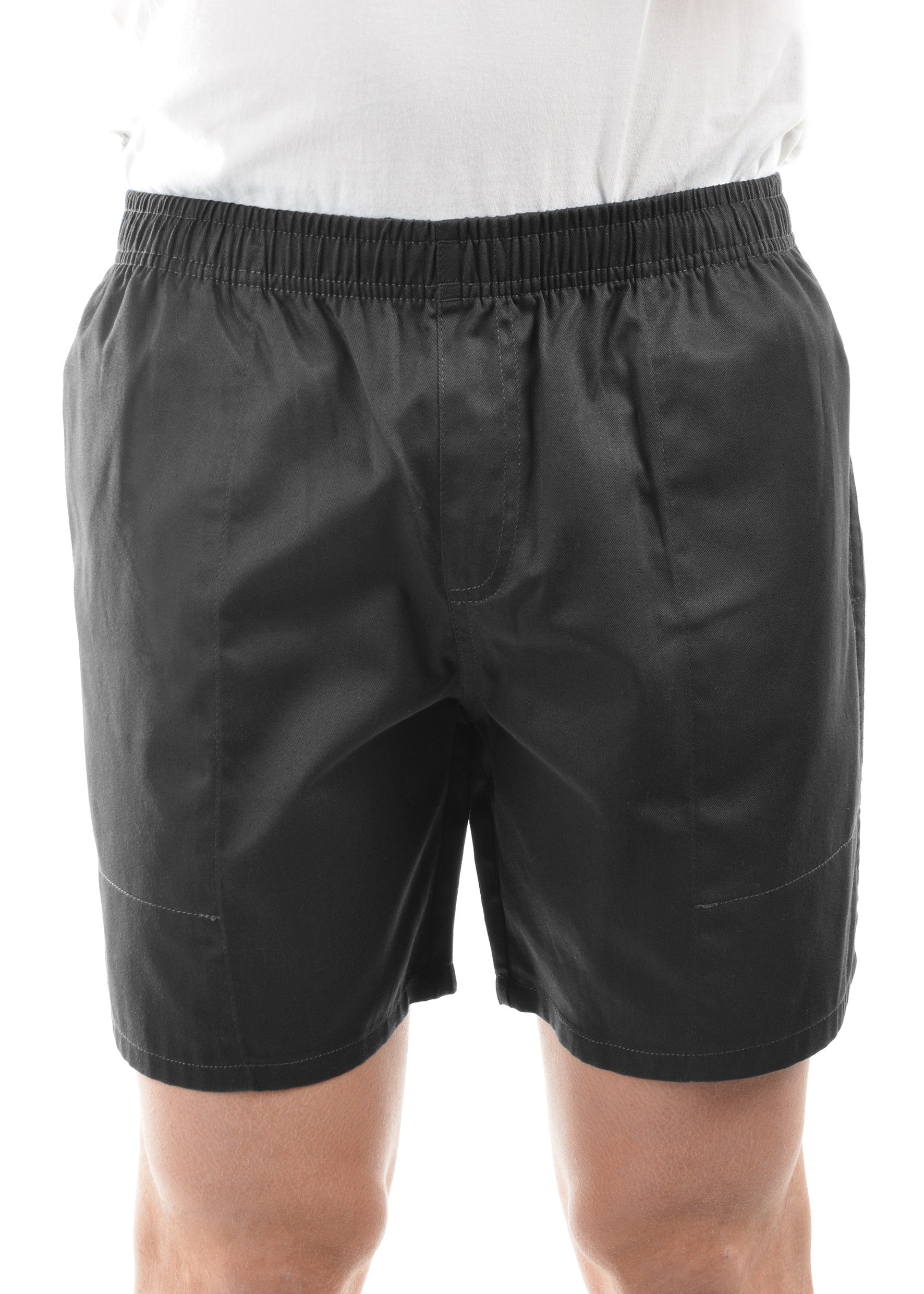 Mens Drill Shorts - Mid  (Navy or Black)