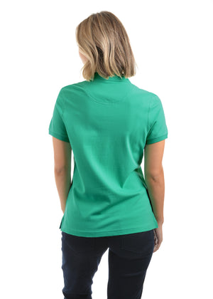 Womens Classic Stretch S/S Polo (Peppermint)