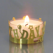 Load image into Gallery viewer, Tealight DeLight! Happy Birthday