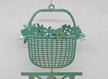 Load image into Gallery viewer, Lightship Basket Weathervane Ornament - charmed