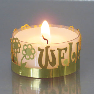 Tealight DeLight! Get Well Soon